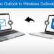 export mac Outlook to Windows Outlook