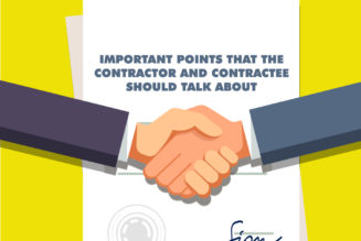 Important Points that the Contractor and Contractee Should Talk About