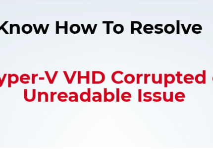 Hyper v vhd file directory corrupted unreadable