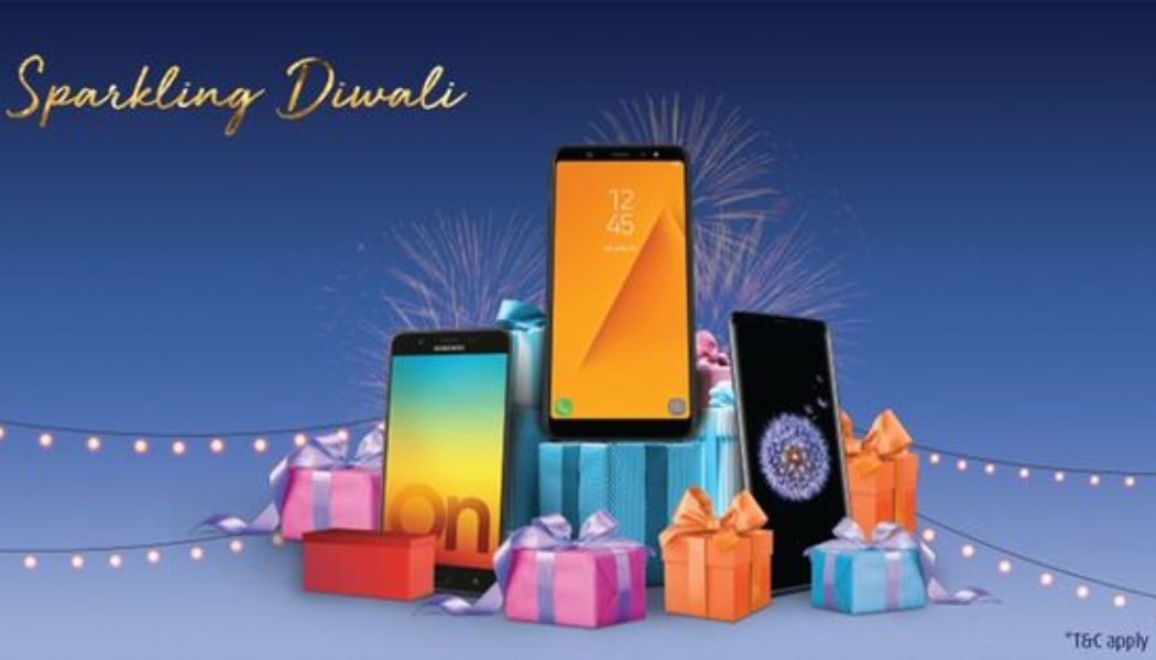 Sparkling Diwali Offers on Samsung Smartphone