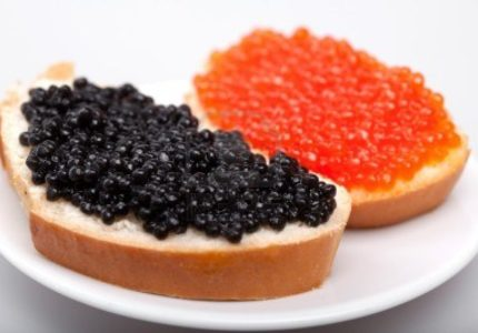 What does caviar mean?