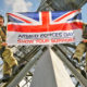 Armed Forces Day celebration UK