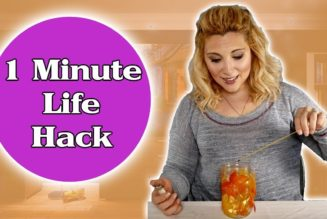 What are the best one-minute life hacks?