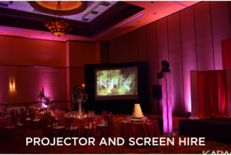 You Can Use Different Projector and Screen Hire for Big or Small Events