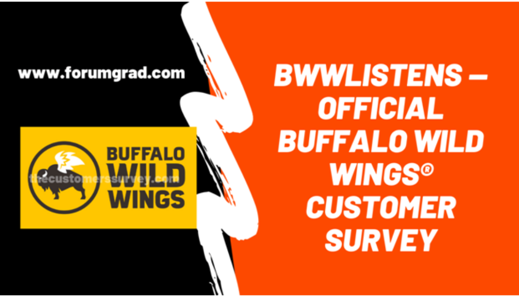 How to Complete a Buffalo Wild Wings Survey