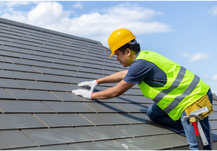 Roofing restoration from Sky Ways Roofing