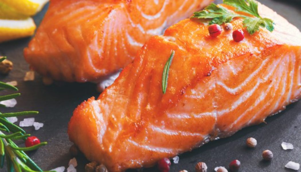 The nutritional values of King Salmon