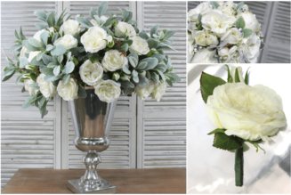 Decorate your premises with the help of artificial flowers