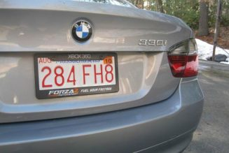 Having a Fancy License Plate Frame Could Get You Fined