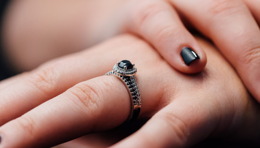The Beauty of the Black Engagement Rings