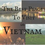 Places to Visit in Vietnam for a First-time Traveller
