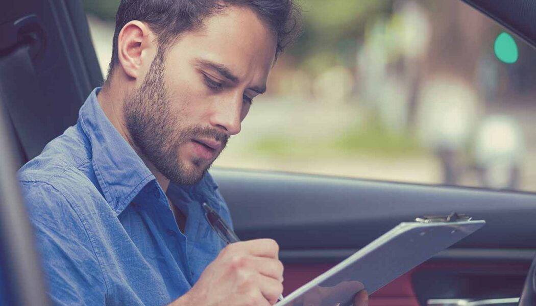 How to find vehicle information by number plate