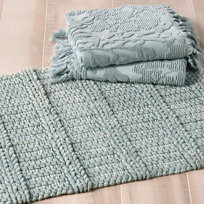 Bath Mats for Touch of Luxury to You Bathroom from Bloomingdale's