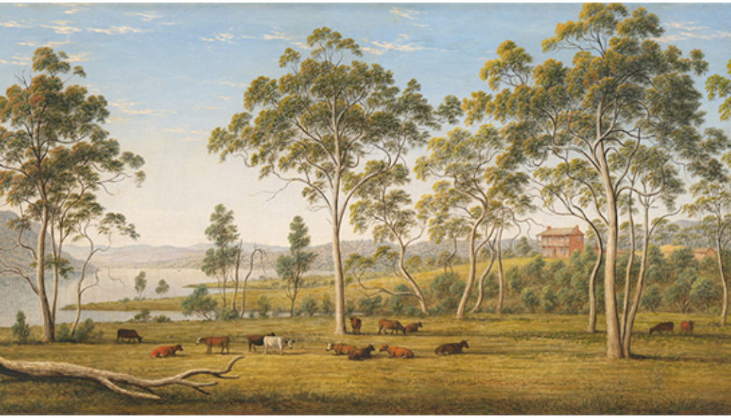A summary about the history of landscapes Paints
