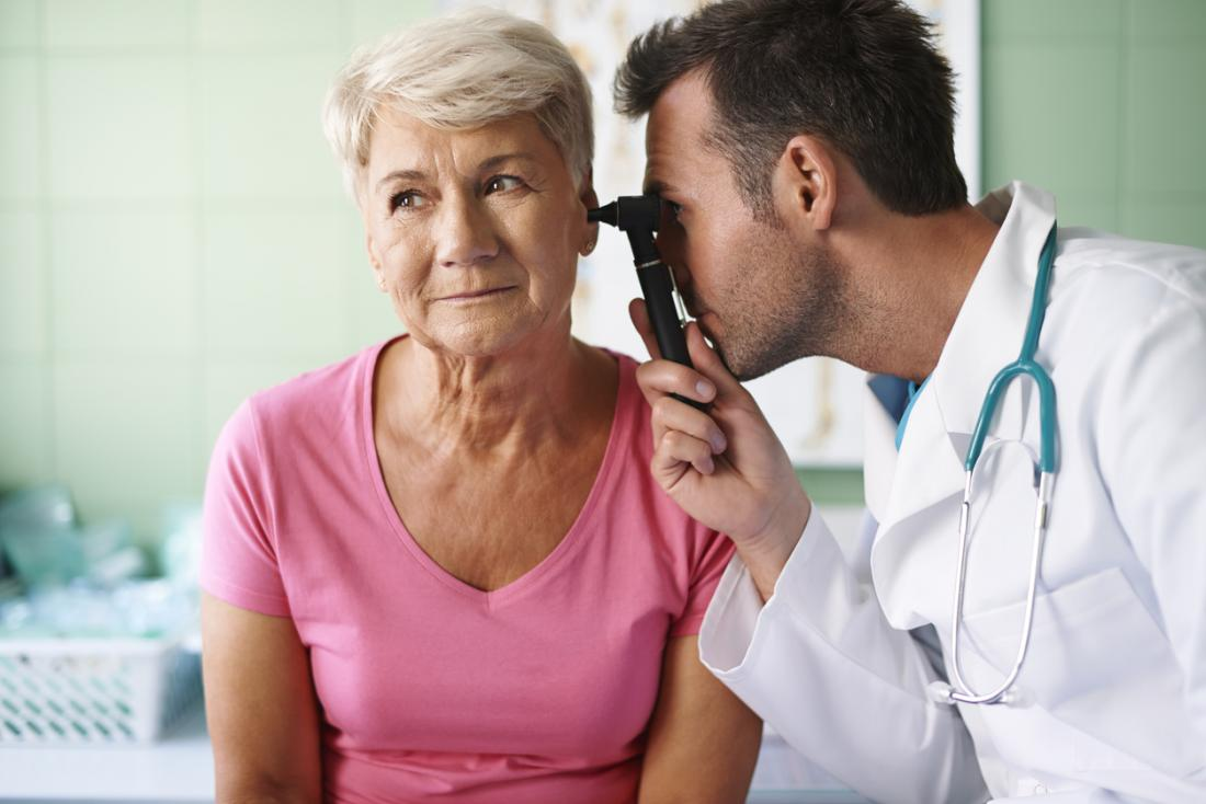 What is presbycusis and its causes?