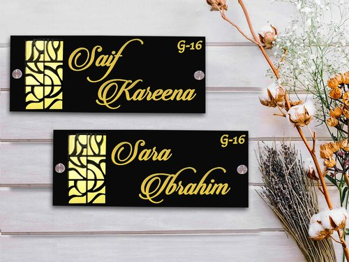 Things To Keep In Mind While Buying Name Plate For House