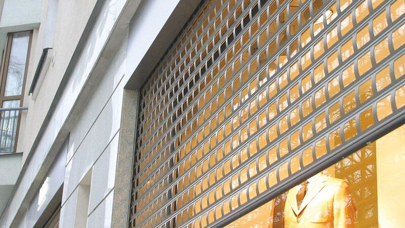 What are the types of Roller Shutters and their functions?