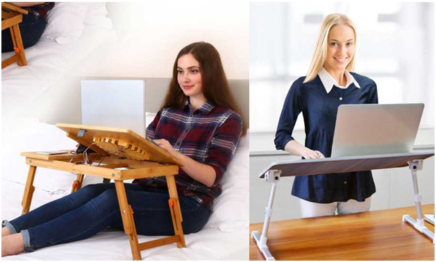 About Ergonomic Laptop Tray Tables