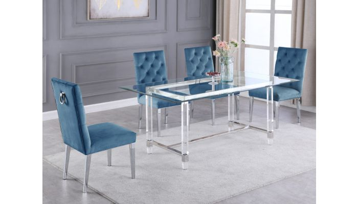 Which is better for a table acrylic or glass?